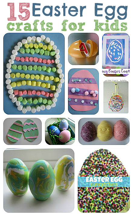 15 Easy Easter Egg Crafts For Kids No Time For Flash Cards