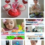 15 Playdough Activities & Recipes Too!