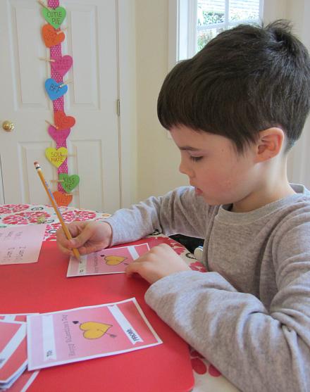 Kid Designed Valentines