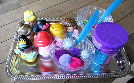 Princess Sensory Tub 2