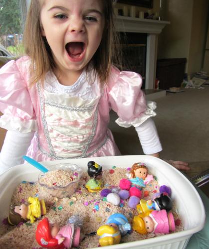 Princess Sensory Tub 5