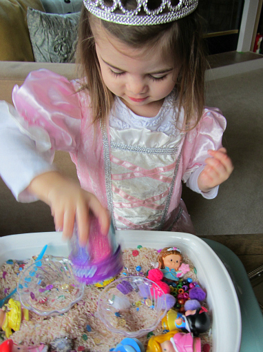Princess Sensory Tub 6