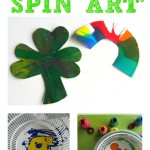 St. Patrick's Day Spin Art Craft