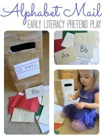 alphabet mail activity for kids