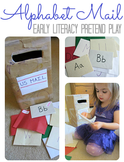 alphabet activity pretend play with letters