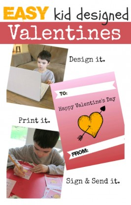 Easy Kid Designed Valentines