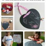 Easy Valentine's Day Chalkboards