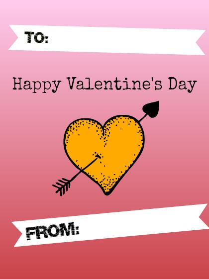 kid designed valentine