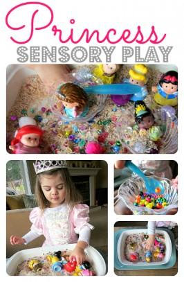 Princess Sensory Tub