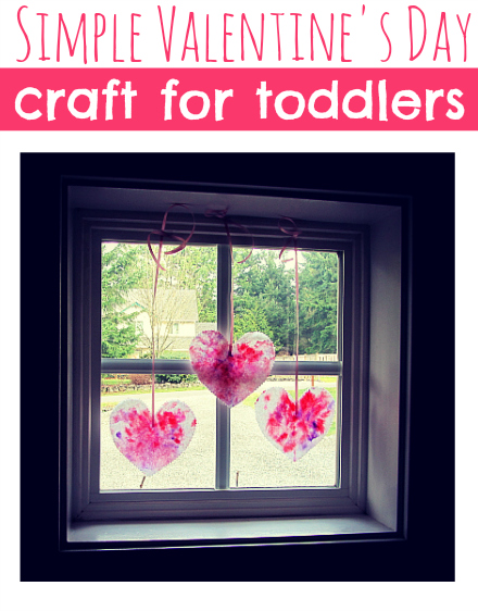 simple valentine's day craft for toddlers no time for flash cards
