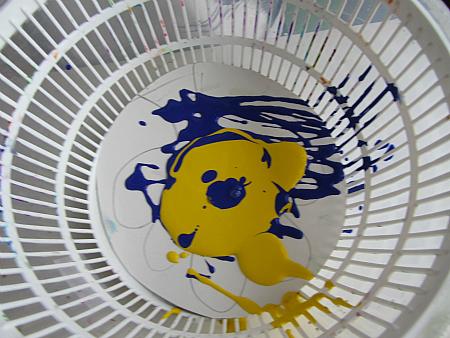 st.patrick's day spin art 2