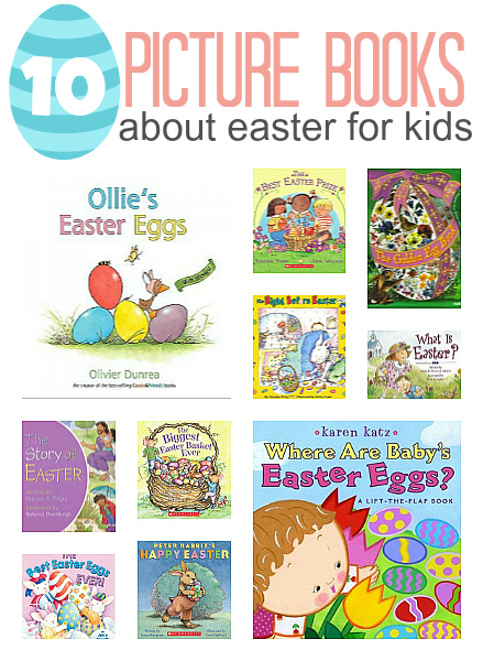 10 easter books for kids