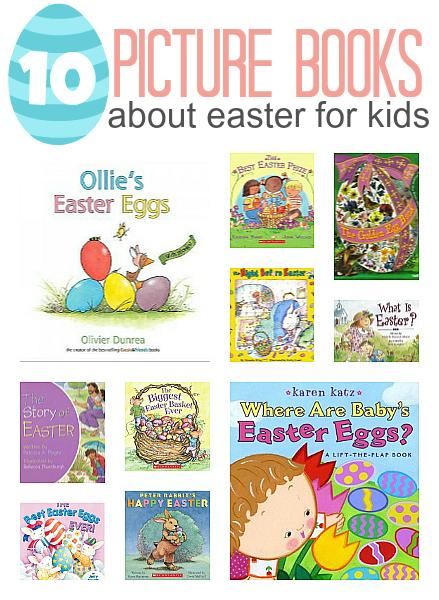 10 easter books for kids
