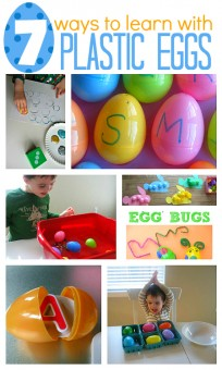 7 Ways To Learn with Plastic Eggs
