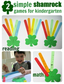 Easy St. Patrick's Day Activities for kindergarten