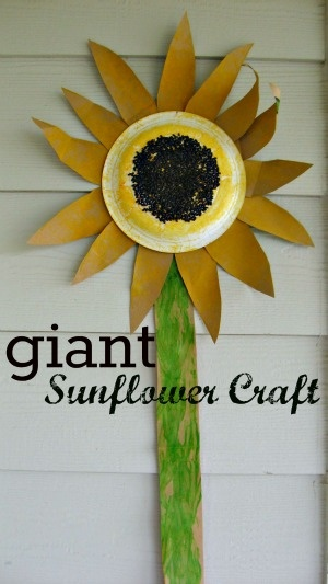 sunflower craft