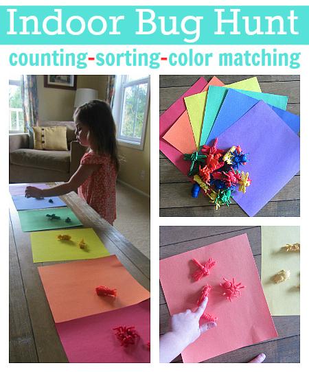 bug hunt color match sorting
