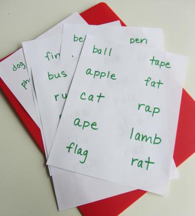early literacy activity 2
