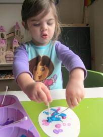 easter egg craft for kids fine motor