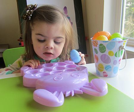 easter egg letter activity for kids