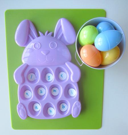 easter egg letter match 5