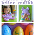 Easter Egg Letter Match – Alphabet For Starters