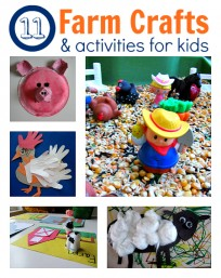 farm themed crafts and activities for kids