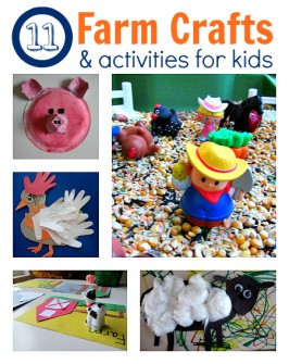 11 Farm Themed Crafts & Activities