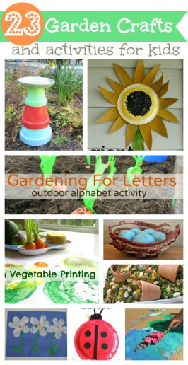 23 Garden Crafts & Activities For Kids