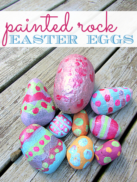 rock easter eggs from no time for flash cards