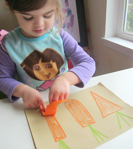 sandpaper and felt puzzles for toddlers