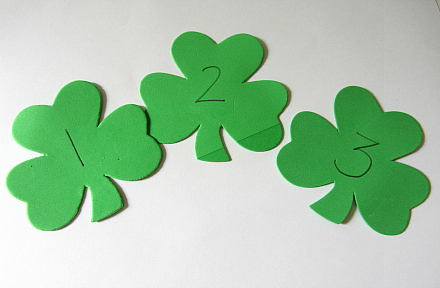 st. patrick's day math game for kindergarten