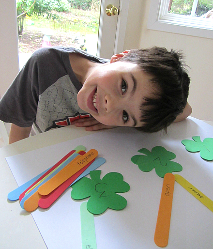 syllables for st. patricks day