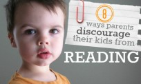 ways parents discourage their kids from reading