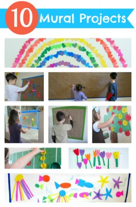 10 mural projects for kids