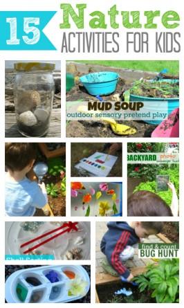15 Nature Activities For Kids