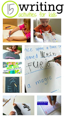 15 Fun Writing Activities For Kids