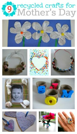 9 Recycled Mother's Day Crafts