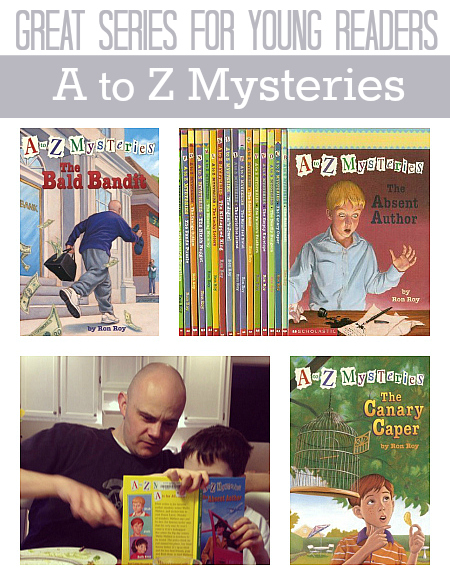 A-Z Mysteries by Ron Roy