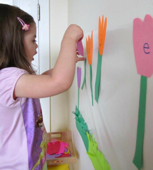 alphabet letter activity
