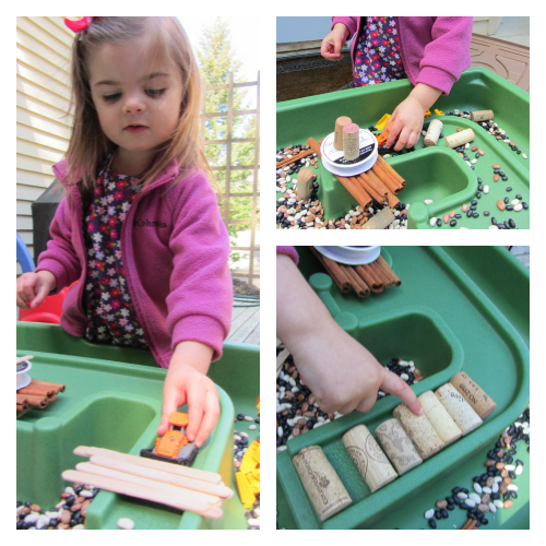 constrution site play for toddlers