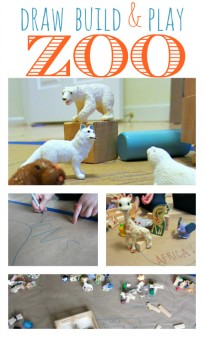 draw build and play zoo