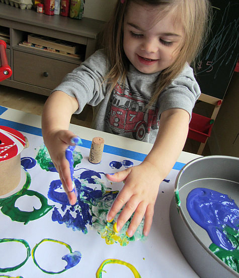 earth day craft for toddlers