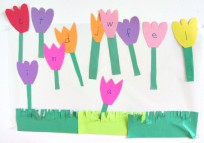 flower letters for toddlers