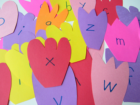letter flowers for alphabet activities