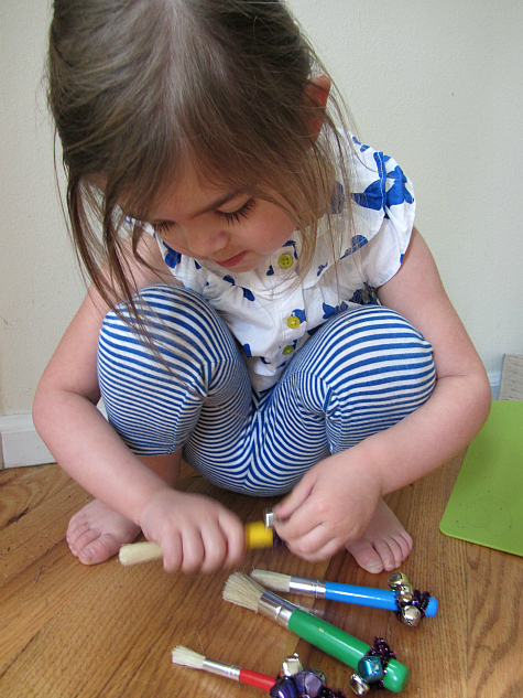 painting with sound exploring art for toddlers