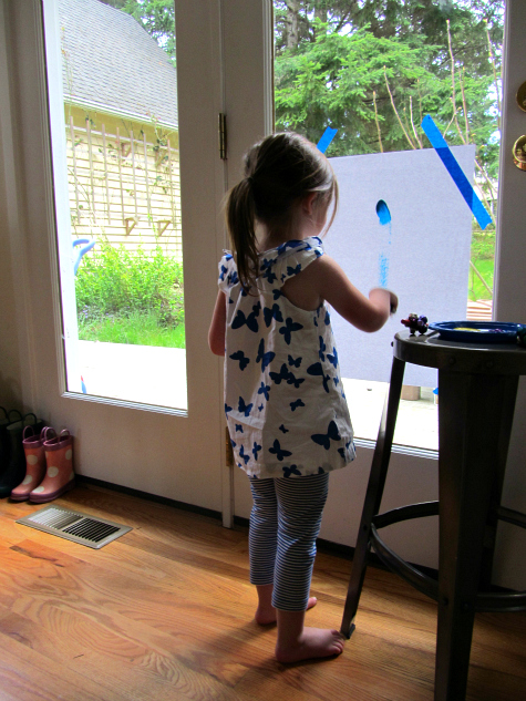 painting with sound jingle bell painting