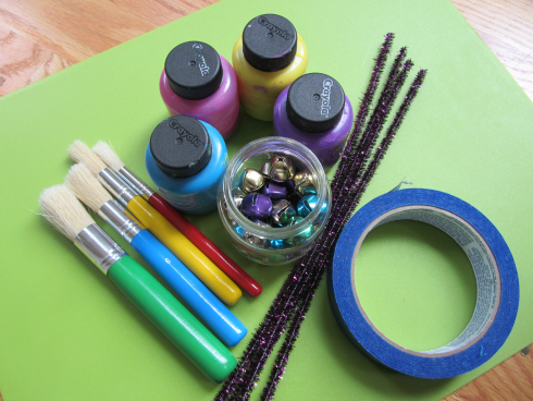 painting with sound preschool art
