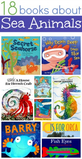 18 Books About Sea Animals