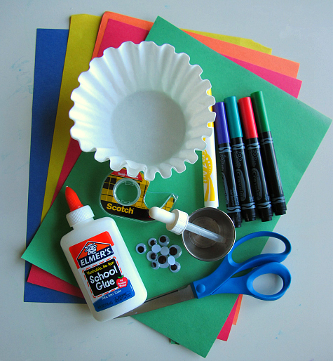 Coffee Filter Snail Craft For Kids 1